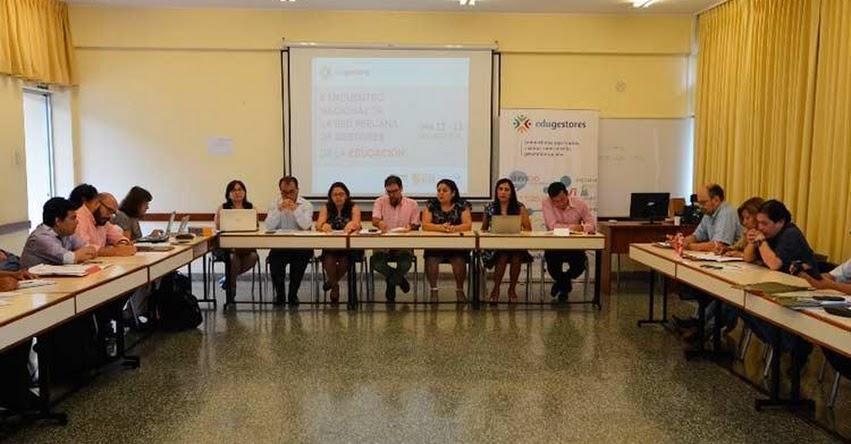 DRELM participó en II Encuentro Nacional de la Red Peruana de Gestores de la Educación - www.drelm.gob.pe