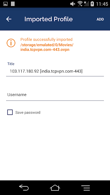 Cara Import Config OpenVPN India Call Of Duty Mobile Android dan TGB