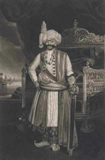 Krishnaraja Wodeyar III, the Raja of Mysore