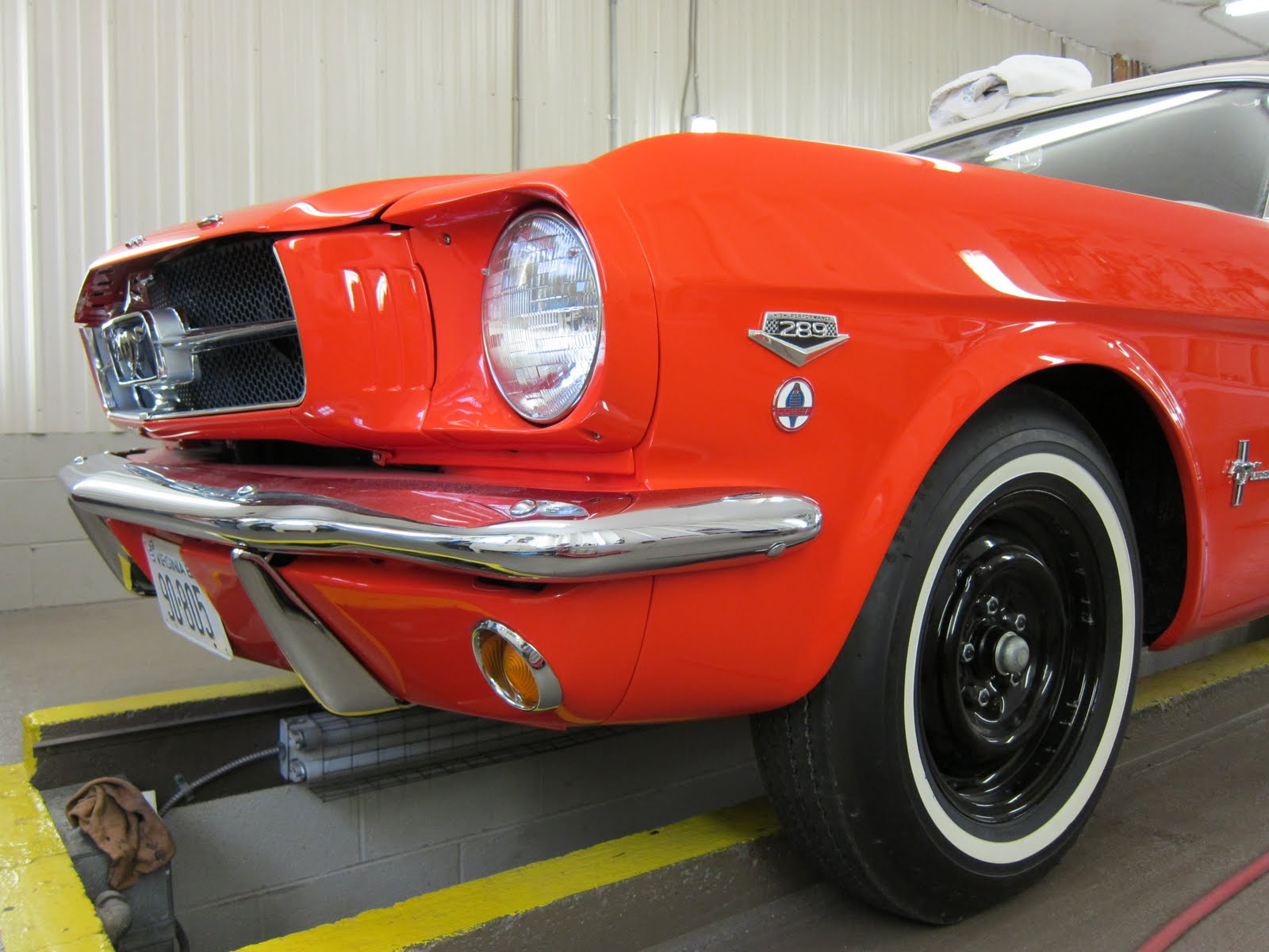1965 Mustang High Performance Convertible Restoration Update