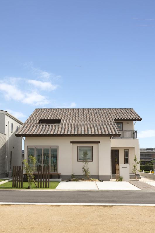 Mặt chính ngôi nhà cấp 4 mái thái Nhật Bản