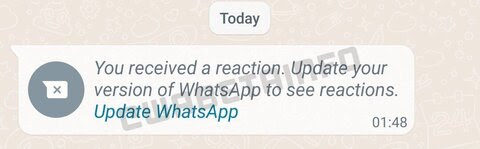 WhatsApp is finally working on message reactions!