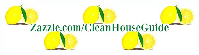 Clean House Guide 2019 Calendar @ Zazzle.com/CleanHouseGuide