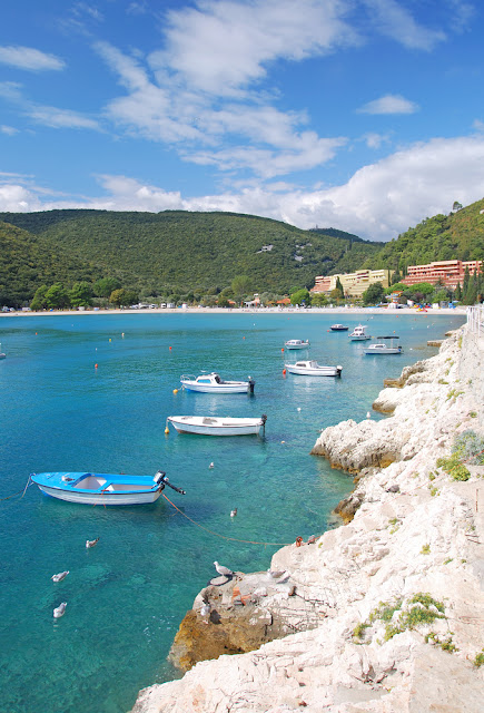 rabac istria croatia boats