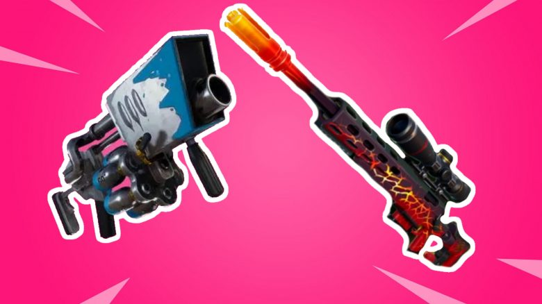 Fortnite: Here you will find the new weapons Big Chill and Dragon's Breath