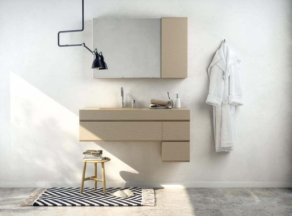 collezione mobili MAKING cappuccino
