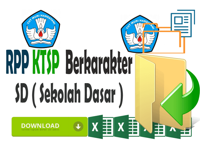 RPP KTSP SD Kelas 3 Format Words