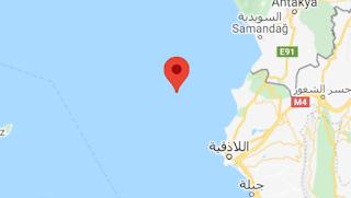 زلزال بقوة 4.5 يضرب البحر المتوسط