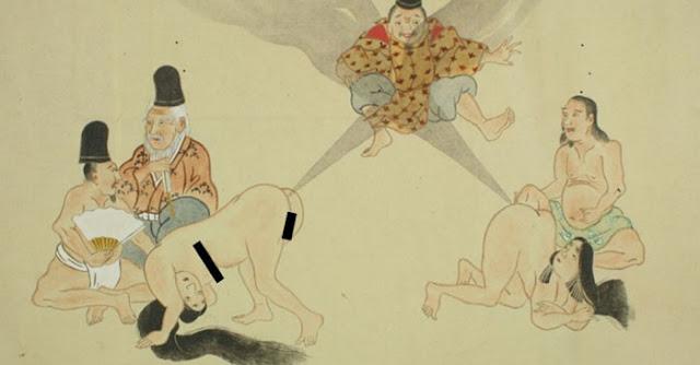 Οι πλούσιες Γιαπωνέζες στην αρχαιότητα είχαν υπηρέτριες για να τις κατηγορούν όταν αερίζονταν!