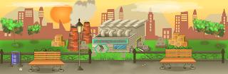 ilustracion videojuego laboratorio animal