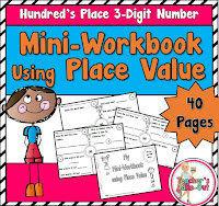 Mini Workbook using 3 Digit Numbers