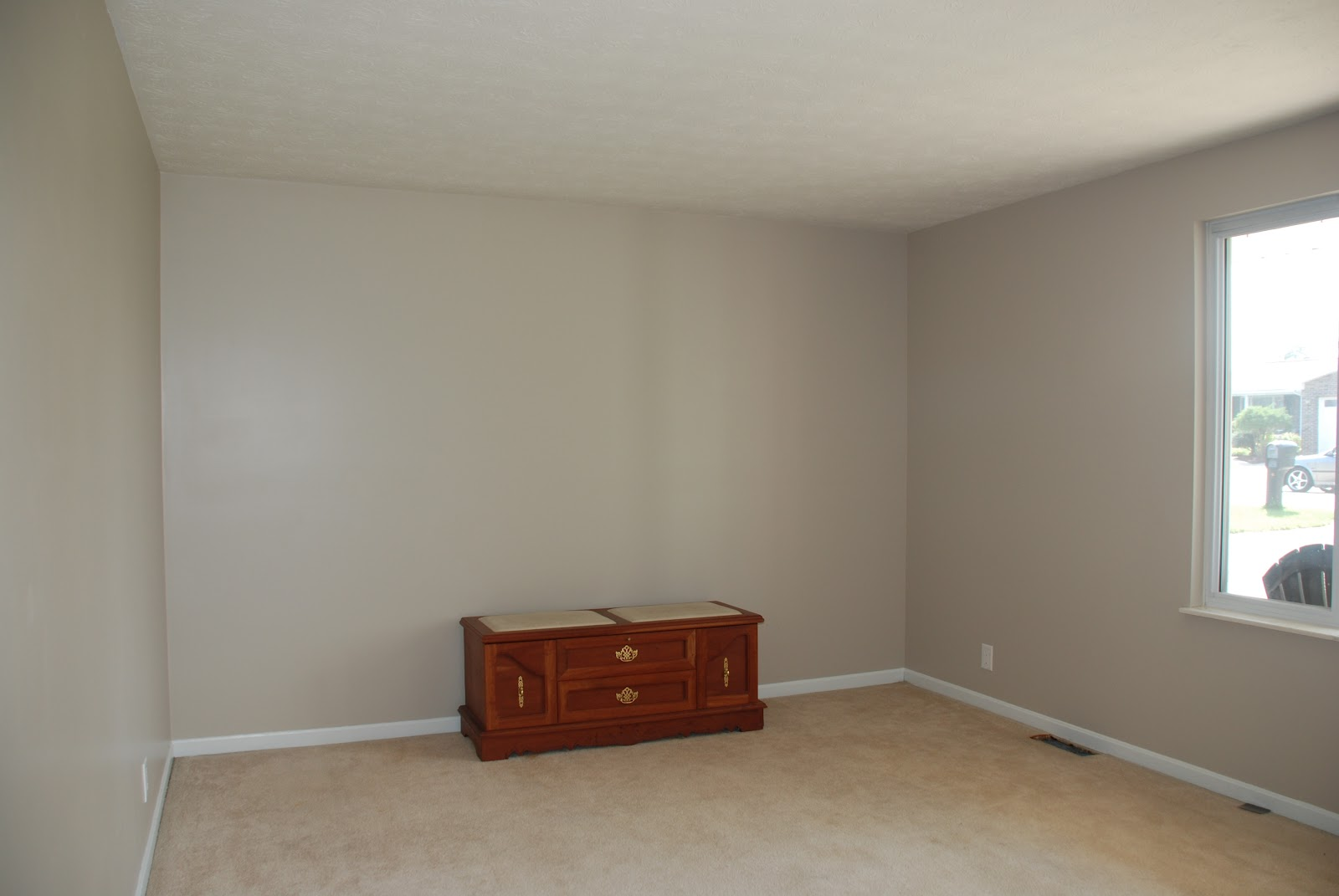 Brown And Blue Living Room Paint