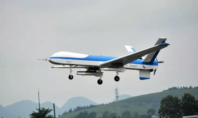 Image Attribute: China's Yaoying II MALE UAV conducted its maiden flight on July 3, 2018, from Anshun Huangguoshu Airport in China's southern Guizhou Province. / Source: Chinese Media