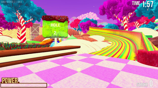 Screenshot from Golf With Your Friends