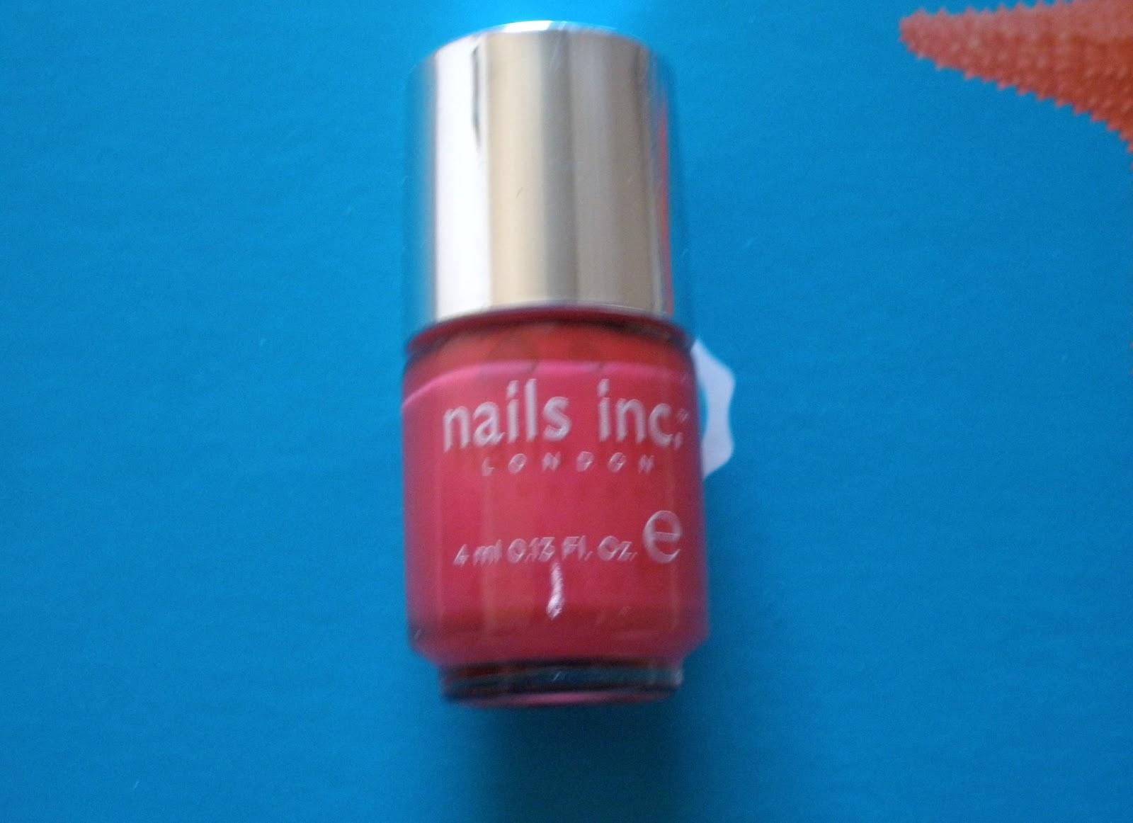 Beauty & Lifestyle Blog für die Frau ab 40: Nagellack von NAILS INC ...