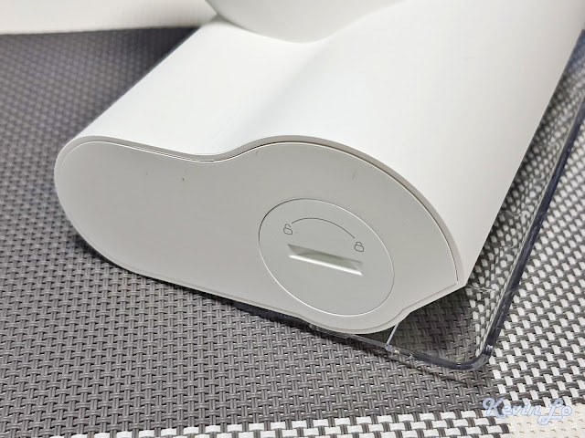 【MI 小米】米家無線吸塵器 G9 (白色) 開箱_迷你電動刷側面