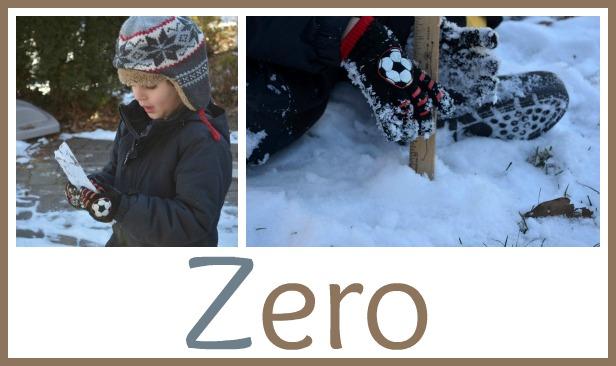 Measuring as a winter activity