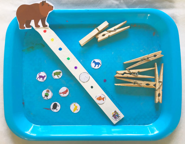 brown bear sequencing activity
