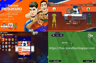 PES 2020 PPSSPP Jogress V3.5 Shopee Liga 1 Indonesia & Full Asia