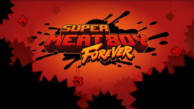 """""""Super Meat Boy Forever"""" Game phiêu lưu Platform 2018"""