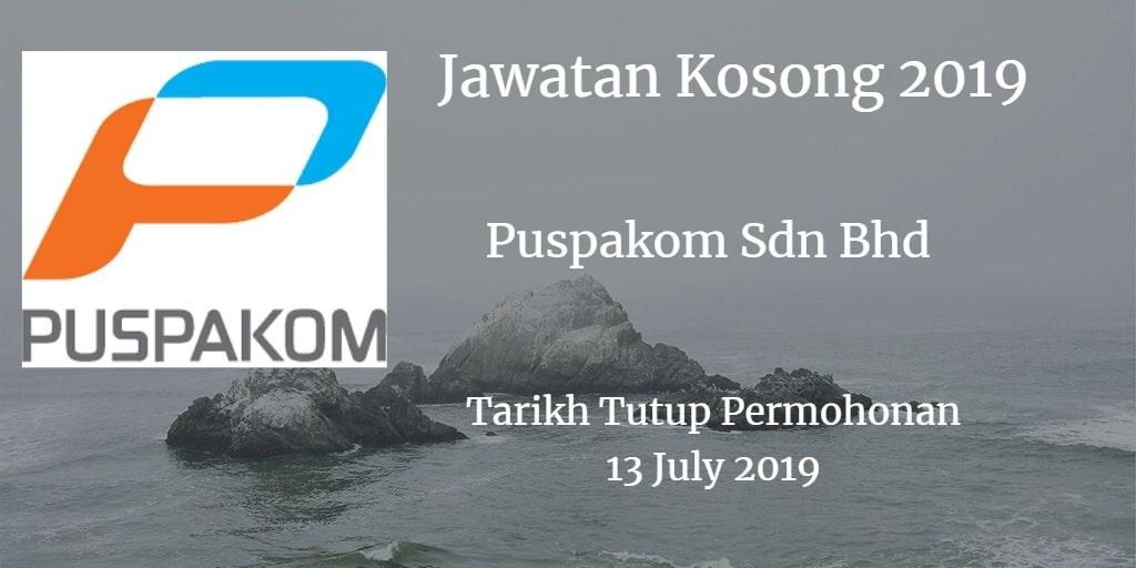Jawatan Kosong Puspakom Sdn Bhd 13 July 2019