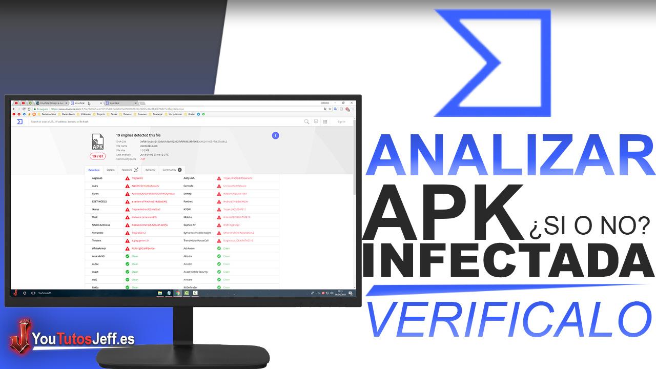 Como Saber si una APK tiene Malware o no - Fácil y Rápido