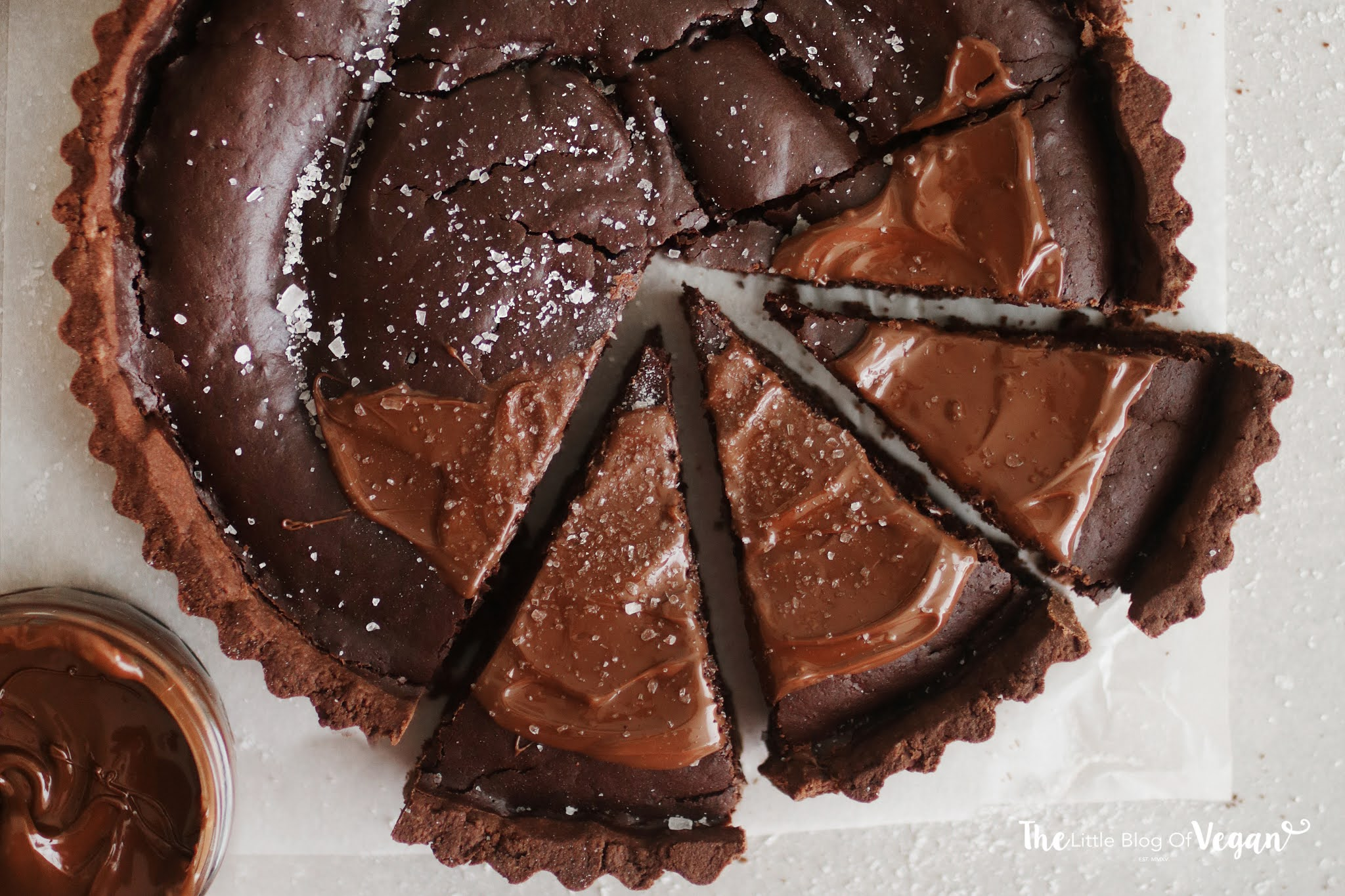 Vegan Brownie Tart recipe