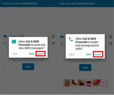 Cara sadap dengan aplikasi SMS Forwading