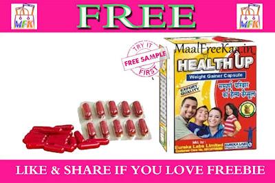 Healthup Capsule get FREE pack of 12 Caps