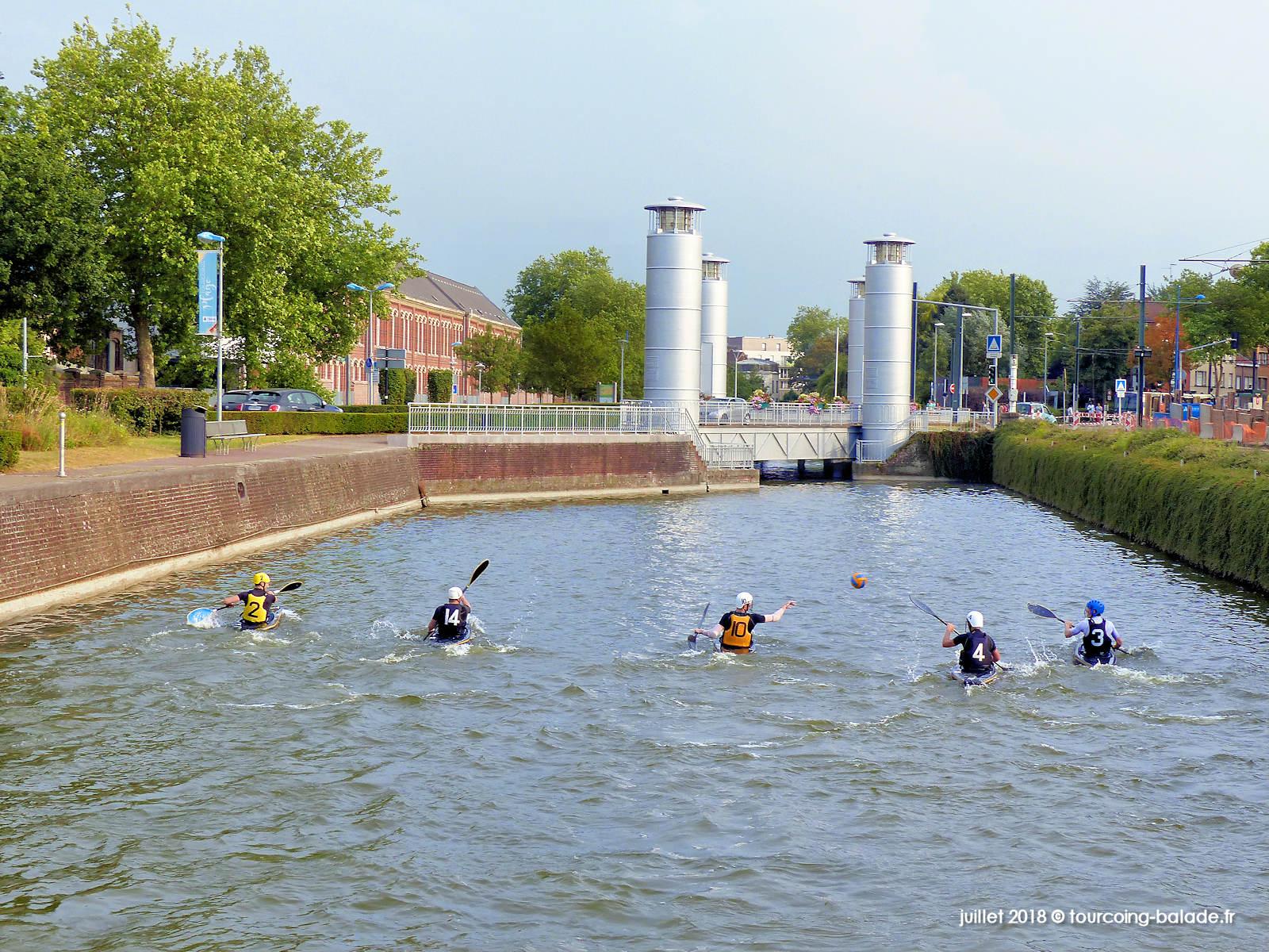 Kayak-Polo, Canal de Tourcoing 2018