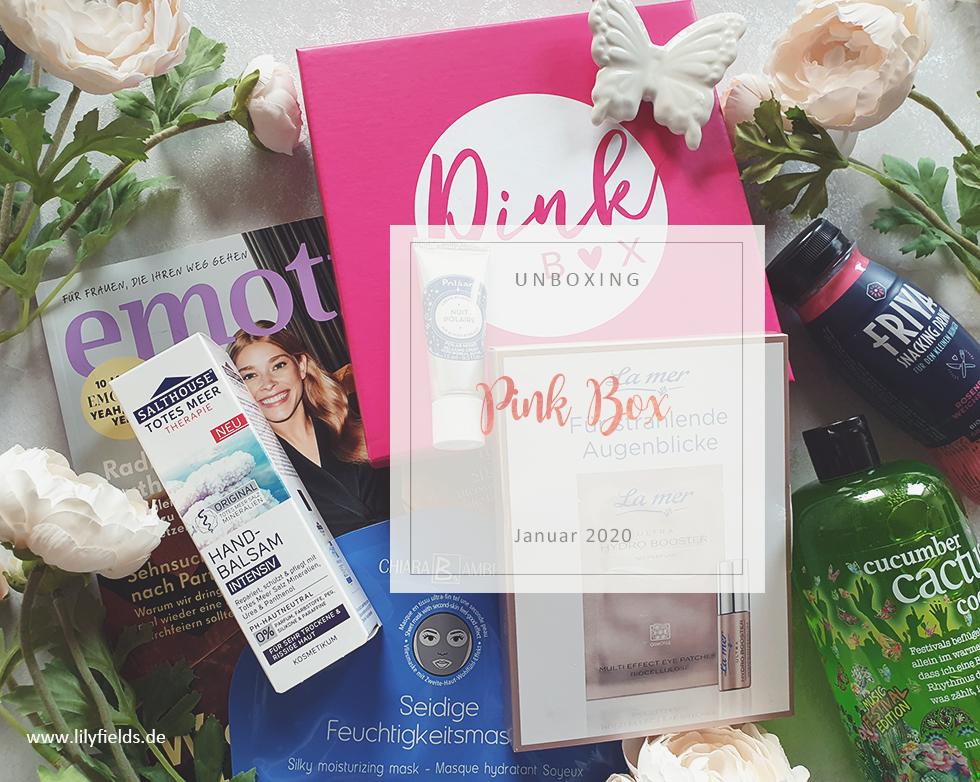 Pink Box - Januar 2020 - unboxing