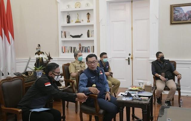 Menko Marves Luhut BP Gelar Rakor Bersama  DKI Jakarta, Jabar dan Walikota/Bupati
