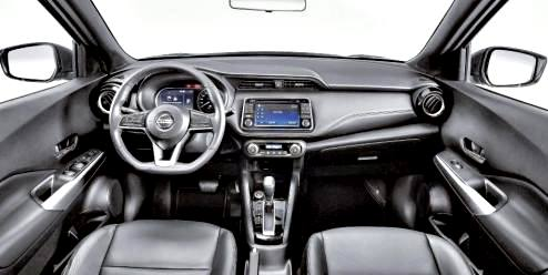 Nissan Kicks 2017 interior