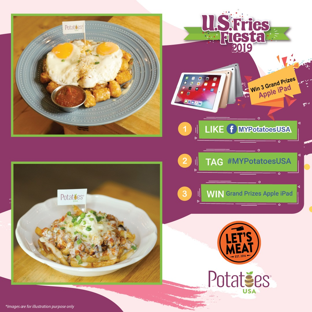 US FRIES FIESTA 2019 - Let's Meat