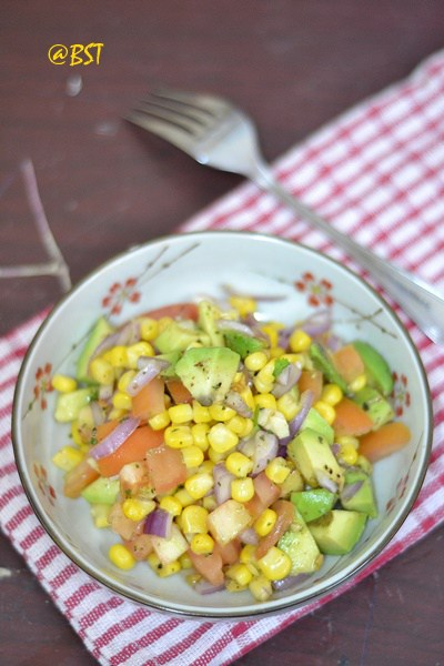 Most Popular Recipe of the Week // Corn Avocado Salsa from The Big Sweet Tooth #SecretRecipeClub #recipe #salsa #corn #appetizer