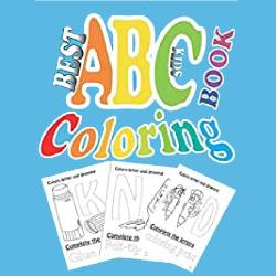 best ABC kids coloring books