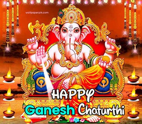 chaturthi wishes image photo download