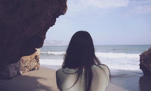 Tinta en las olas