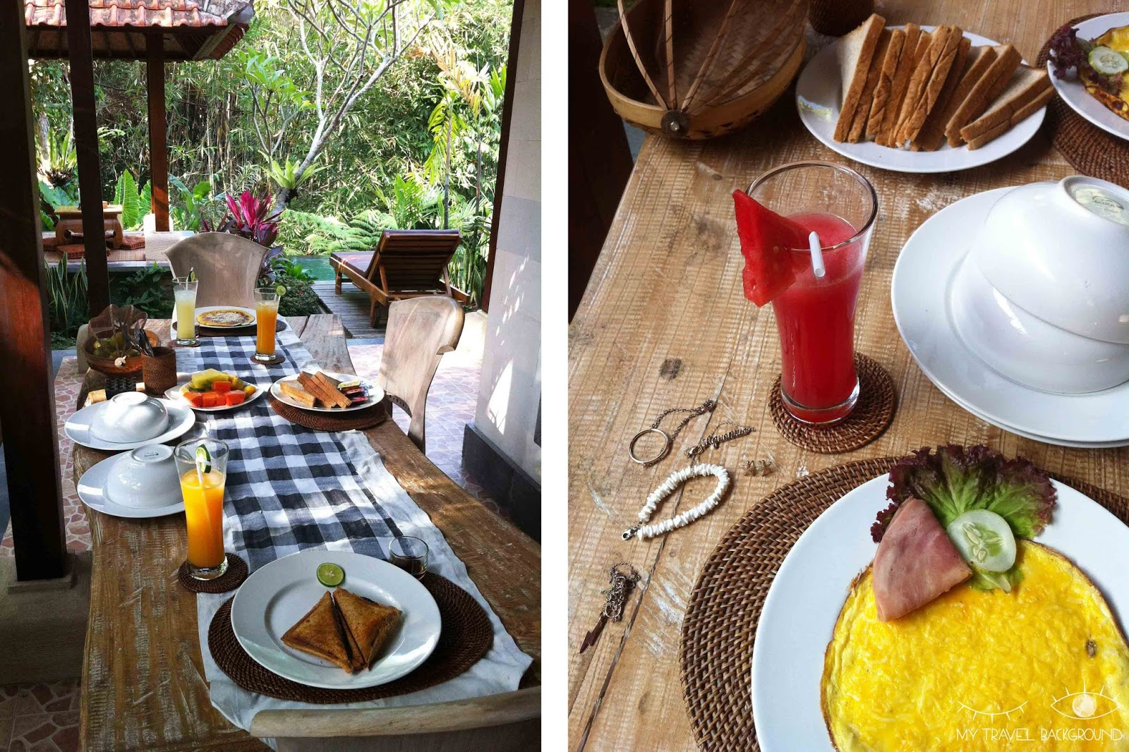 My Travel Background : 10 choses à faire à Bali - Manger dans des endroits incroyables