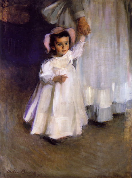 Cecilia Beaux Ernesta Child with Nurse