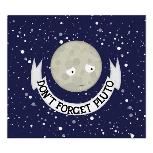 Space Poor Pluto