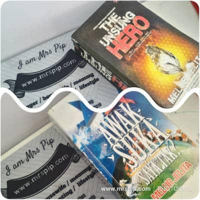 Preloved novel murah Awak Suka Saya Tak dan The Unsung Hero