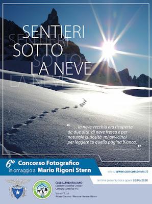 CONCORSO FOTOGRAFICO IN OMAGGIO A MARIO RIGONI STERN