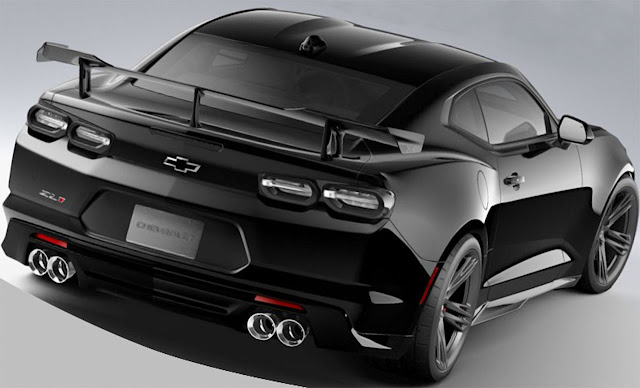 Chevy-Camaro-ZL1-1LE-black-wing-and-diffuser