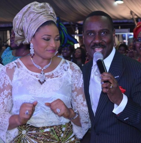 Pastor Ituah & Wife Ibidun Ighodalo Mark 9th Wedding