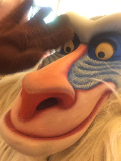 Rafiki Takes a Selfie at Disneyland