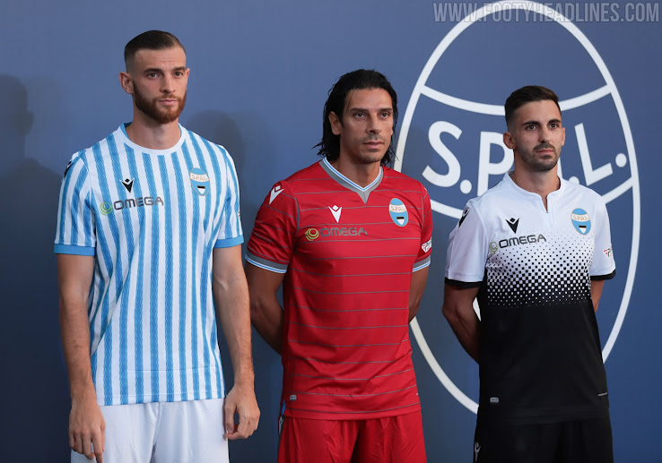 Spal 20 21 Home Away Third Kits Revealed Footy Headlines