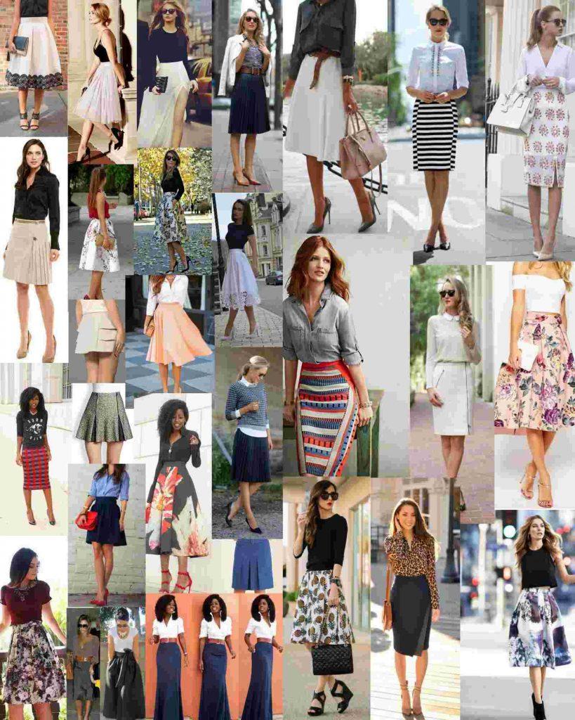30 Ideias de Looks com Saia