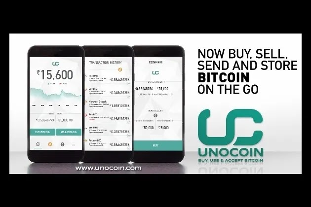 Unocoin mobile app