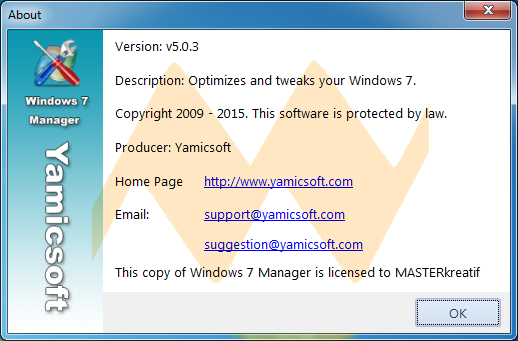 Windows 7 Manager v5.0